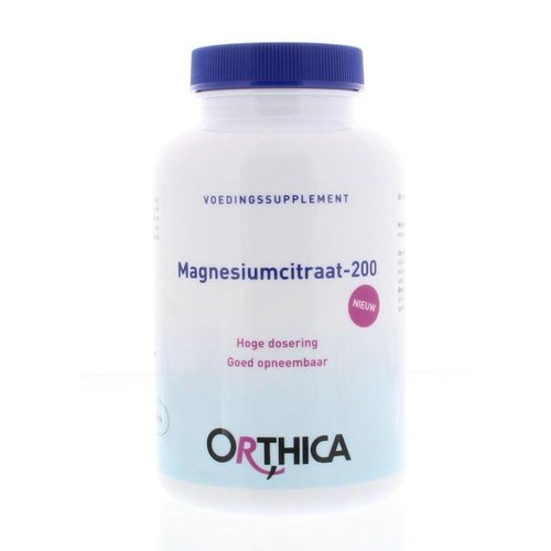 Orthica Magnesiumcitraat 200 (120tb)