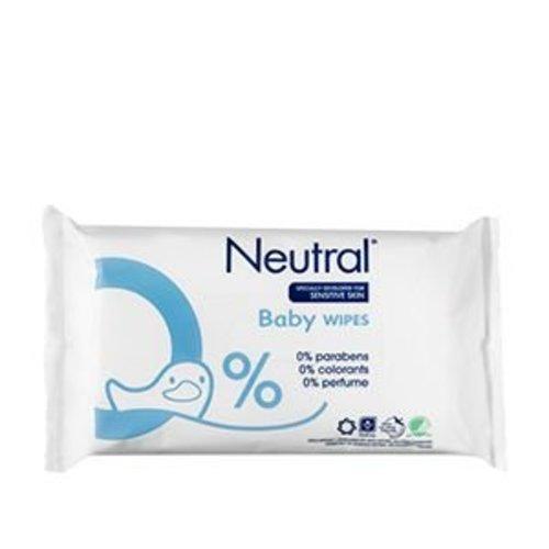 Neutral Neutral Baby doekjes (63st)