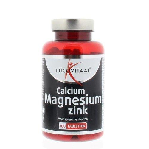 Lucovitaal Lucovitaal Calcium magnesium zink (100tb)