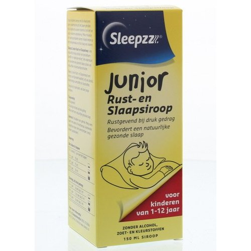 Sleepzz Sleepzz Rust en slaapsiroop junior (150ml)