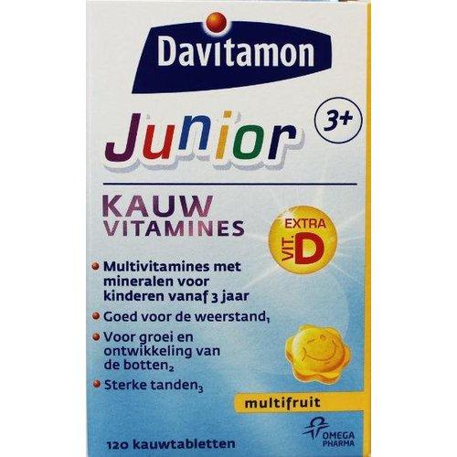 Davitamon Davitamon Junior 3+ multifruit (120kt)