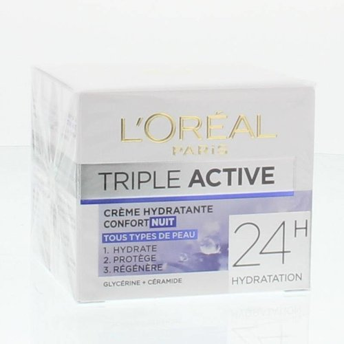 L'Oreal Loreal Dermo expertise triple active nachtcreme (50ml)