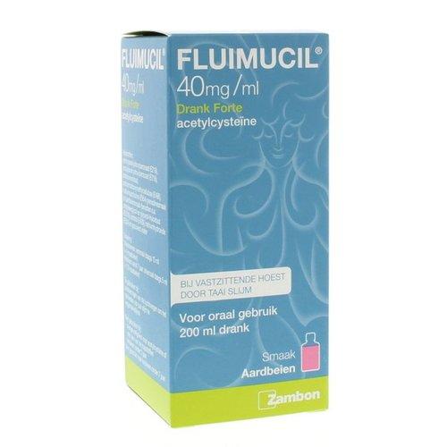 Fluimucil Fluimucil Fluimucil drank forte 4% (200ml)