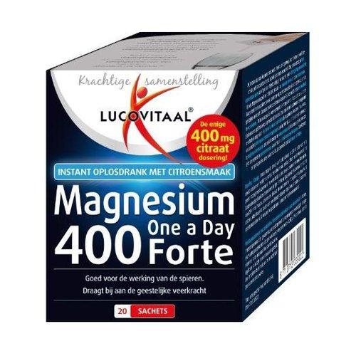 Lucovitaal Lucovitaal Magnesium 400 forte (20sach)