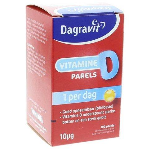 Dagravit Dagravit Vitamine D pearls 400IU (100st)