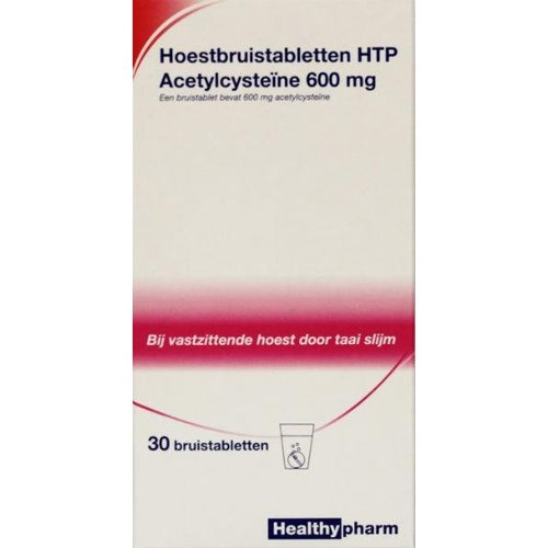 Healthypharm Healthypharm Acetylcysteine 600 mg HTP (30brt)