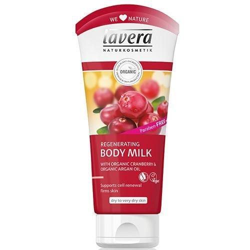 Lavera Lavera Bodymilk regenerating cranberry & argan oil (200ml)