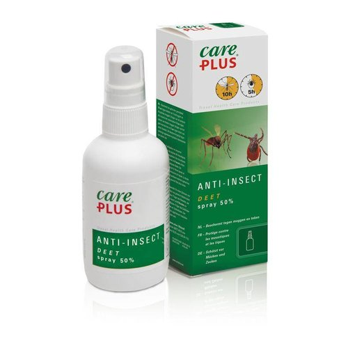Care Plus Deet Insect spray 50% (60ml)