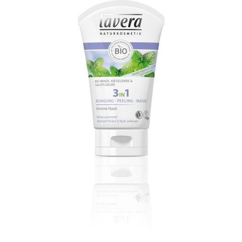 Lavera Lavera 3 in 1 Wash scrub mask (125ml)