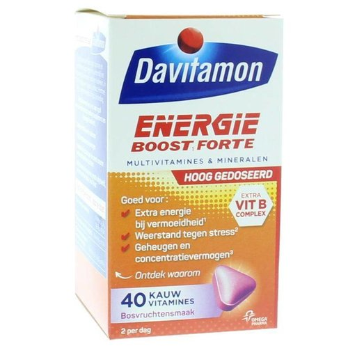 Davitamon Extra energie bosvruchten (40kt)