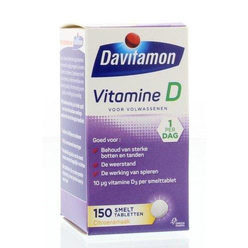Davitamon Davitamon D Volwassen smelttablet (150tb)