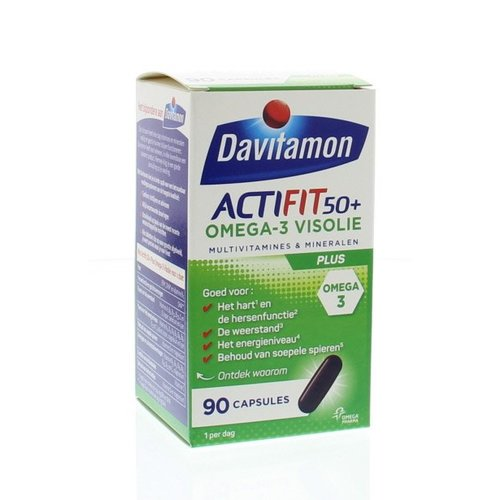 Davitamon Actifit 50+ omega 3 (90ca)