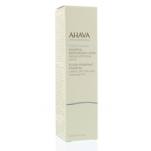 Ahava Ahava Essential moisture lotion F15 (50ml)