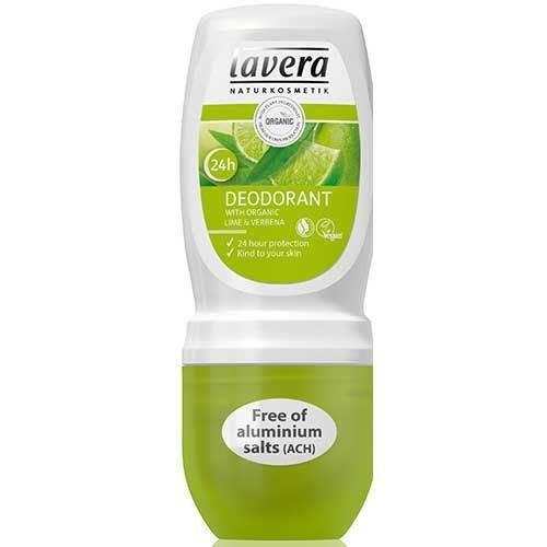 Lavera Lavera Deodorant roller lime and verbena (50ml)