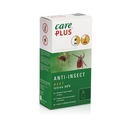 Care Plus Deet Insect lotion 50% (50ml)