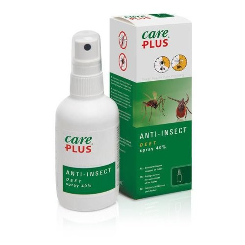 Care Plus Deet Insect spray 40% (100ml)