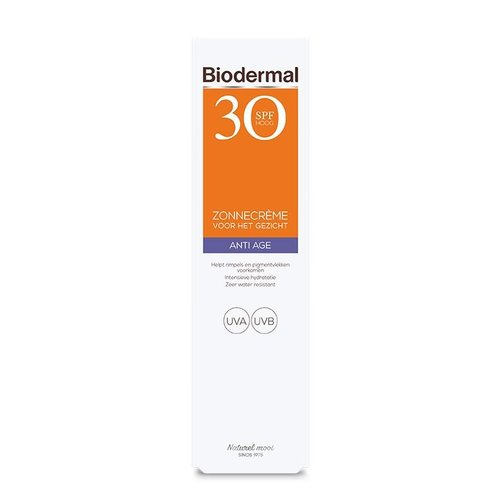 Biodermal Biodermal Anti age creme gezicht SPF30 (40ml)