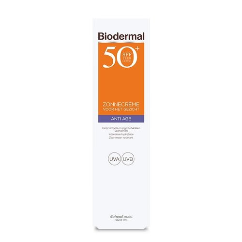 Biodermal Biodermal Anti age creme gezicht SPF50+ (40ml)