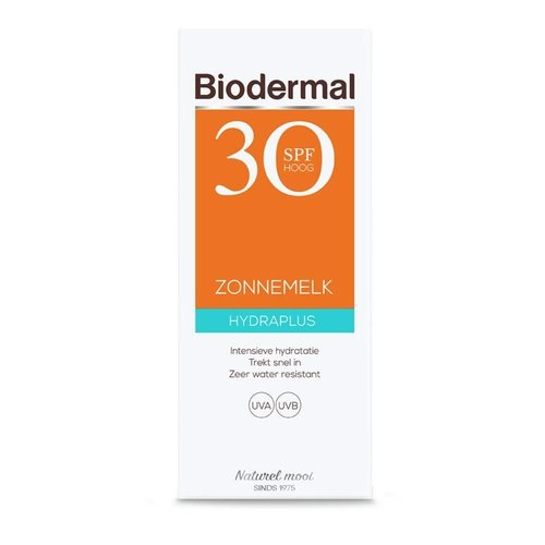 Biodermal Biodermal Hydra plus zonnemelk SPF30 (200ml)