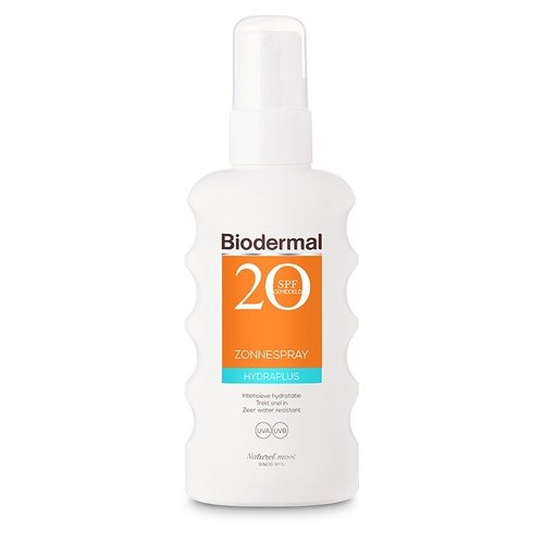 Biodermal Biodermal Hydra plus zonnespray SPF20 (175ml)