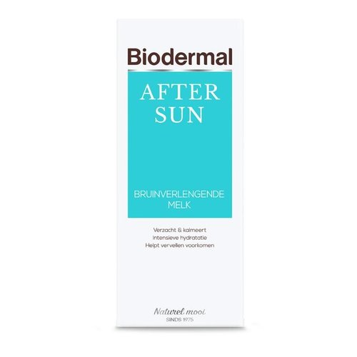 Biodermal Biodermal Aftersun bruinverlengende melk (200ml)