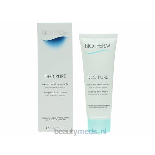 Biotherm Biotherm deo Pure Antiperspirant cream (75ml)