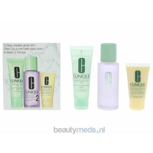 Clinique Clinique 3-Step Introductory Kit Skin Type 2 - Droge huid en combinatie (3stuk)