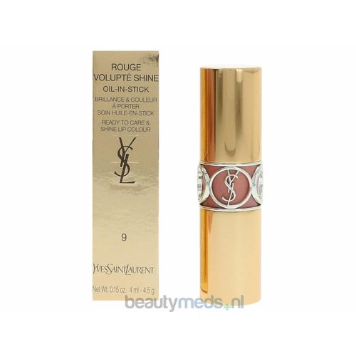 Yves Saint Laurent YSL Rouge Volupte Shine Lip Stick (4,5gr) #9 Nude Sheer