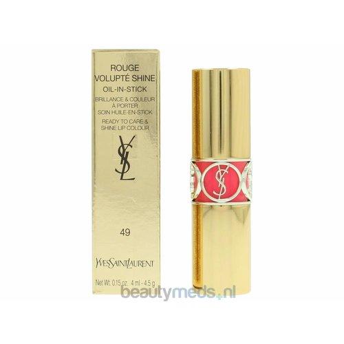 Yves Saint Laurent YSL Rouge Volupte Shine Oil In Stick  #49 Rose Saint Germain
