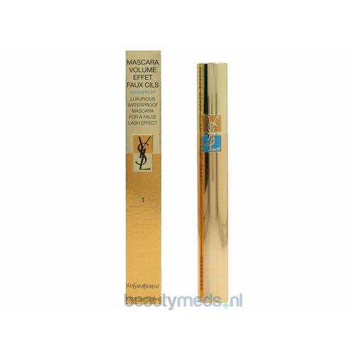 Yves Saint Laurent YSL Mascara Volume Effet Faux Cils Waterproof Mascara (6,9ml) #01 Black - Fusain Charcoal Black
