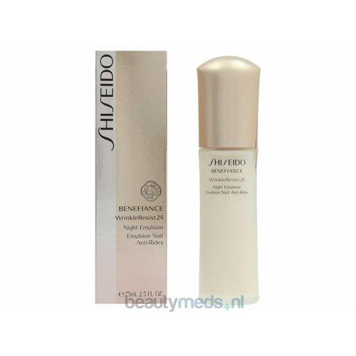 Shiseido Shiseido Benefiance Wrinkleresist24 Night Emulsion (75ml)