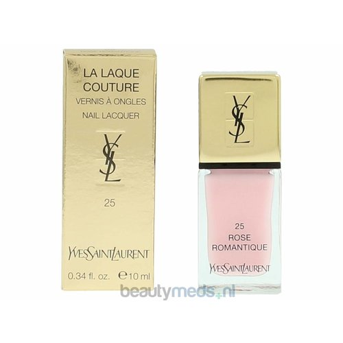 Yves Saint Laurent YSL La Laque Couture Nail Polish (10gr) #25 Rose Romantique