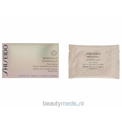 Shiseido Shiseido Benefiance Wrinkleresist 24 Pure Retinol Express Eye Mask (12stuk)