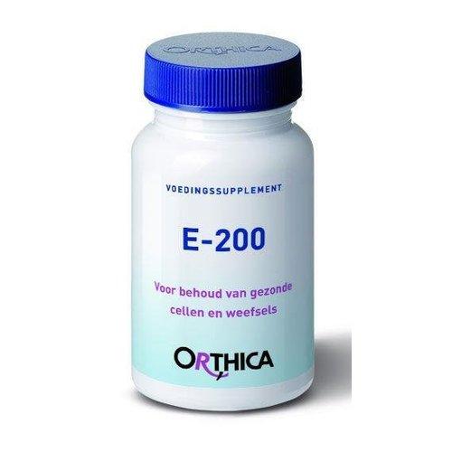 Orthica Vitamine E 200 (90sft)