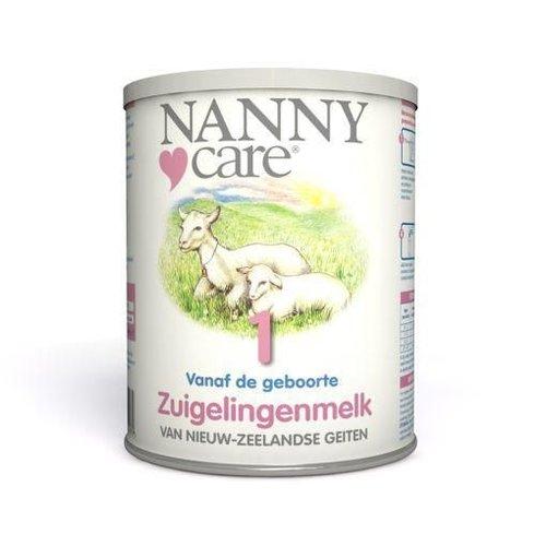 Nannycare Nannycare Nannycare zuigelingenvoeding geitenmelk (400g)
