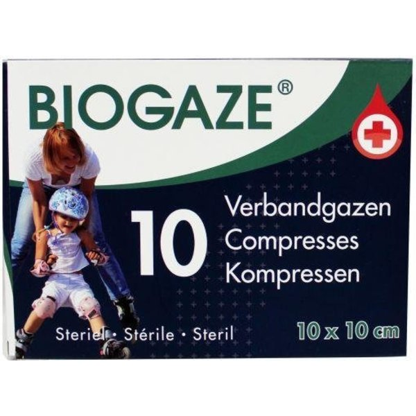 Biogaze 10 x 10 cm (10st)