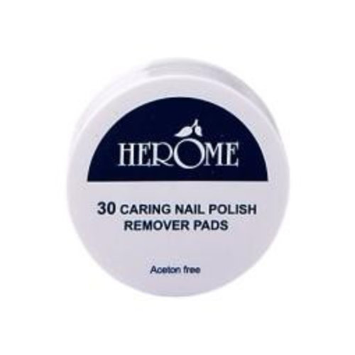 Herome Herome Nagel caring remover pad (30st)