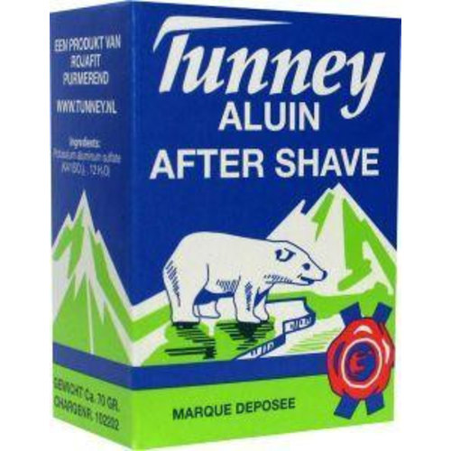 Tunney Tunney Aluinblokje after shave (70g)