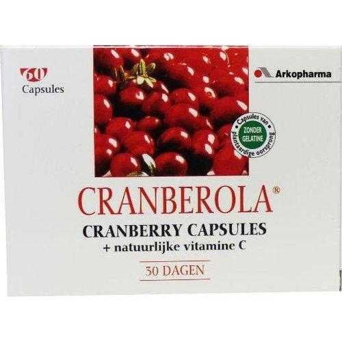Cranberola Cranberola Cranberry & vitamine C (60ca)