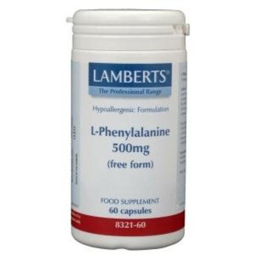 Lamberts Lamberts L-Phenylalanine 500 mg (60ca)