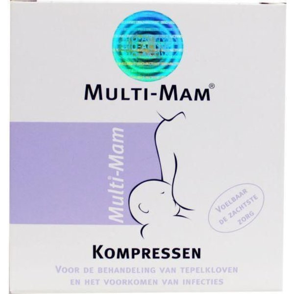 Multi mam kompressen (12st)