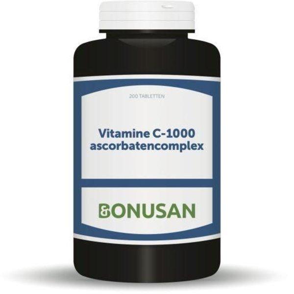 Vitamine C1000 mg ascorbaten (200tb)