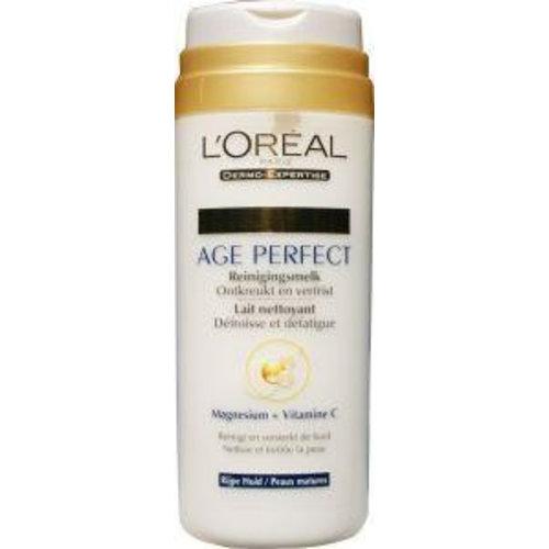 L'Oreal Loreal Age perfect reinigingsmelk (200ml)