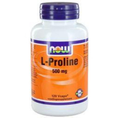 NOW NOW L-Proline 500 mg (120vc)