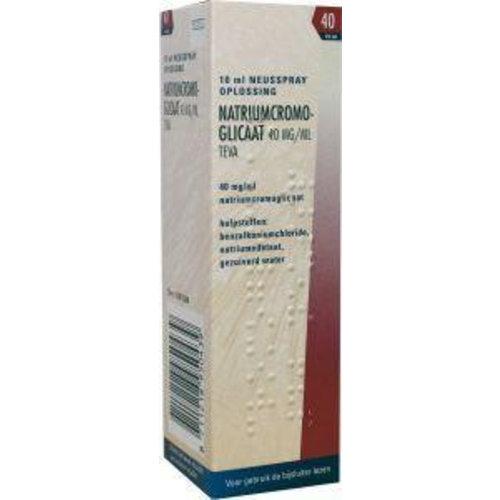 Teva Teva Cromoglicaat spray 40 mg (10ml)