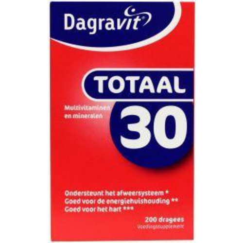 Dagravit Dagravit Totaal 30 (200drg)
