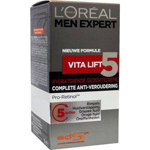 L'Oreal Loreal Men expert vitalift5 gezichtscreme (50ml)