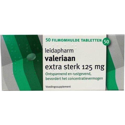 Leidapharm Leidapharm Valeriaanextract 125 mg (50tb)