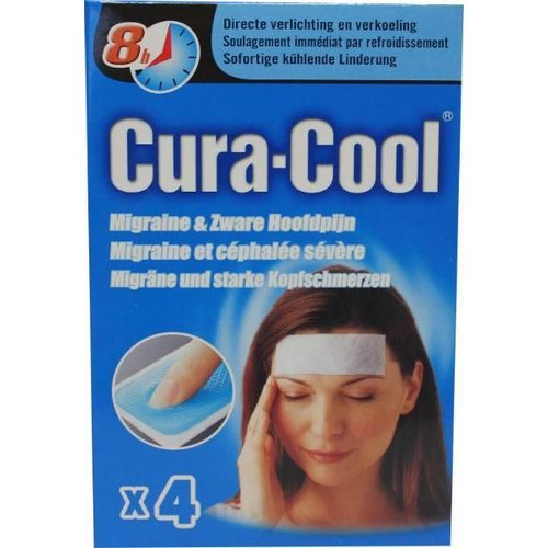 Be Cool Be Cool Cura-cool migraine strips (4st)