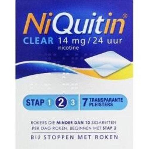Niquitin Niquitin Stap 2 14 mg (7st)